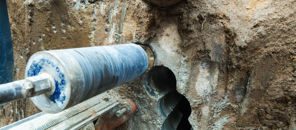 core drilling image